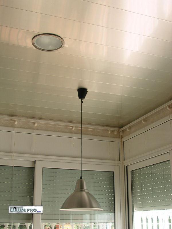 Falso techo de aluminio para cocina dom stica for Techos para cocinas