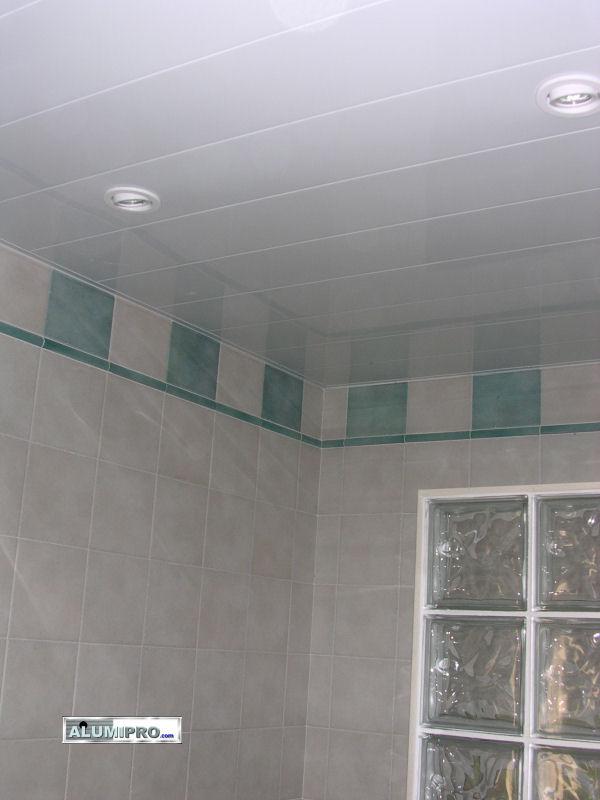 Falso techo de aluminio para cocina y ba o - Falsos techos para banos ...