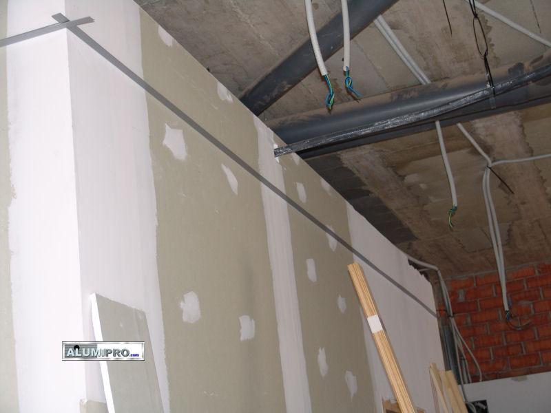 Instalaci n de falso techo y tabiquer a pladur en - Instalacion de pladur en paredes ...