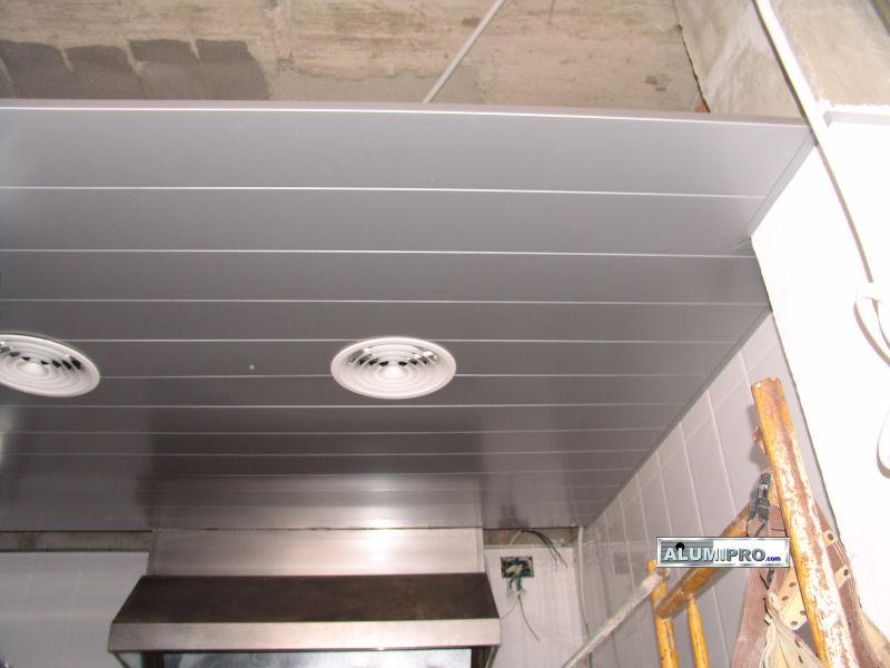 Falso techo en cocina