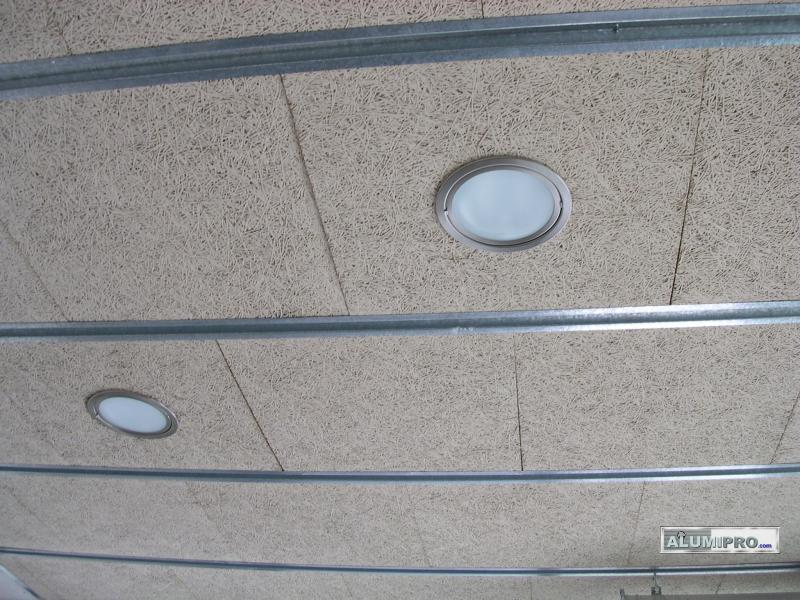 Proceso de instalaci n de falso techo en local comercial - Techos modulares ...