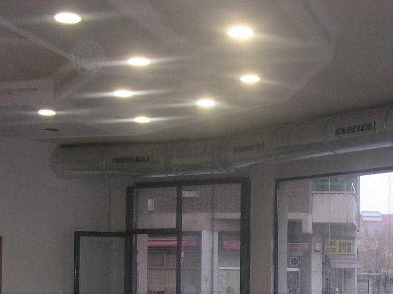 Instalaci n de techos con pladur - Iluminacion de techo ...